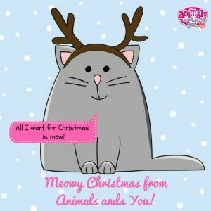 Merry Christmas Animals.Merry Christmas Animals And You